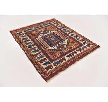 3' x 3' 7 Anatolian Square Rug