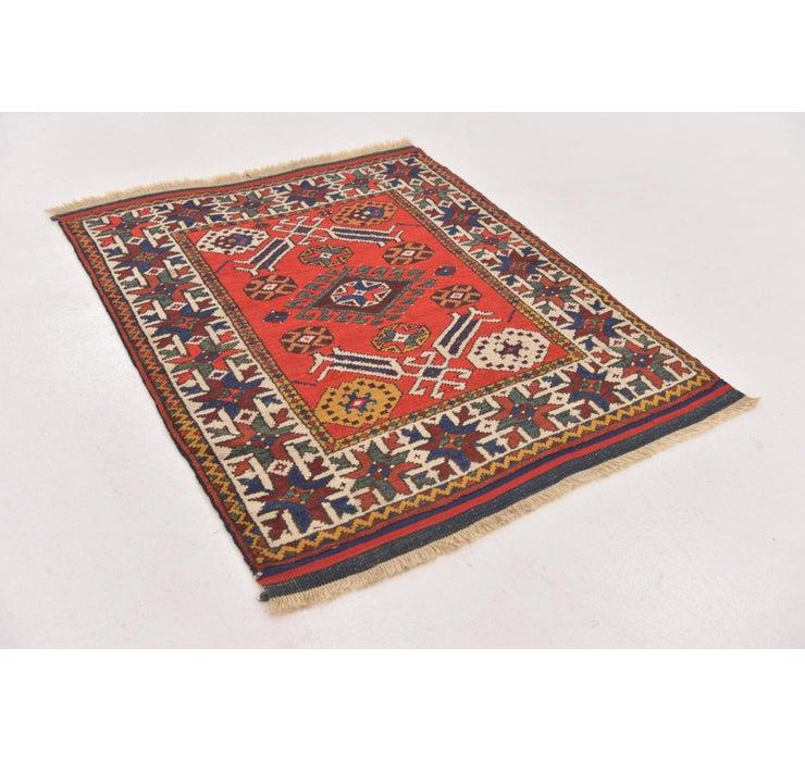 2' 10 x 3' 5 Anatolian Square Rug