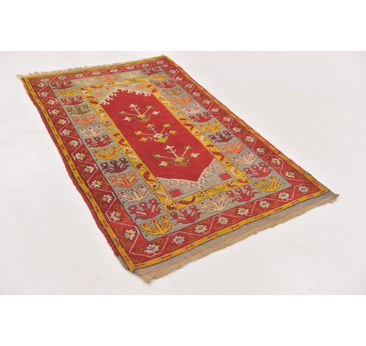 2' 10 x 4' 7 Anatolian Oriental Rug