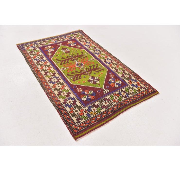 2' 9 x 4' 3 Anatolian Oriental Rug