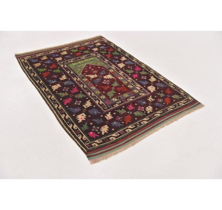 3' 2 x 4' 3 Anatolian Oriental Rug