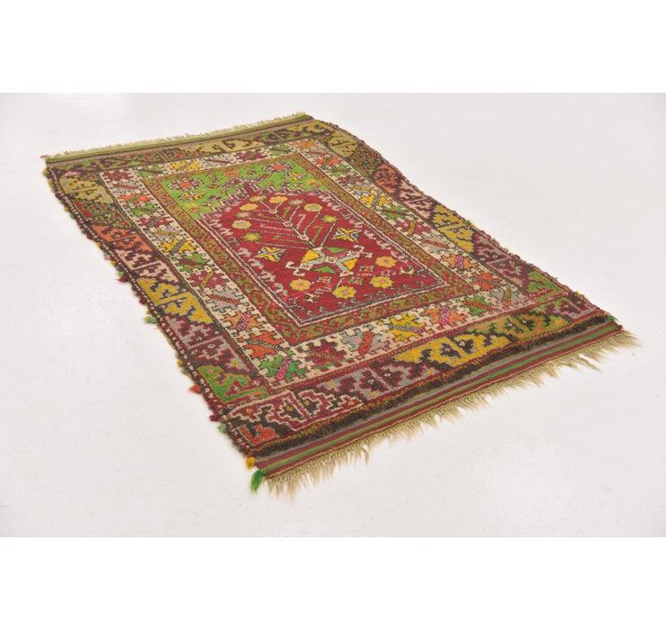 3' 6 x 5' 2 Anatolian Oriental Rug
