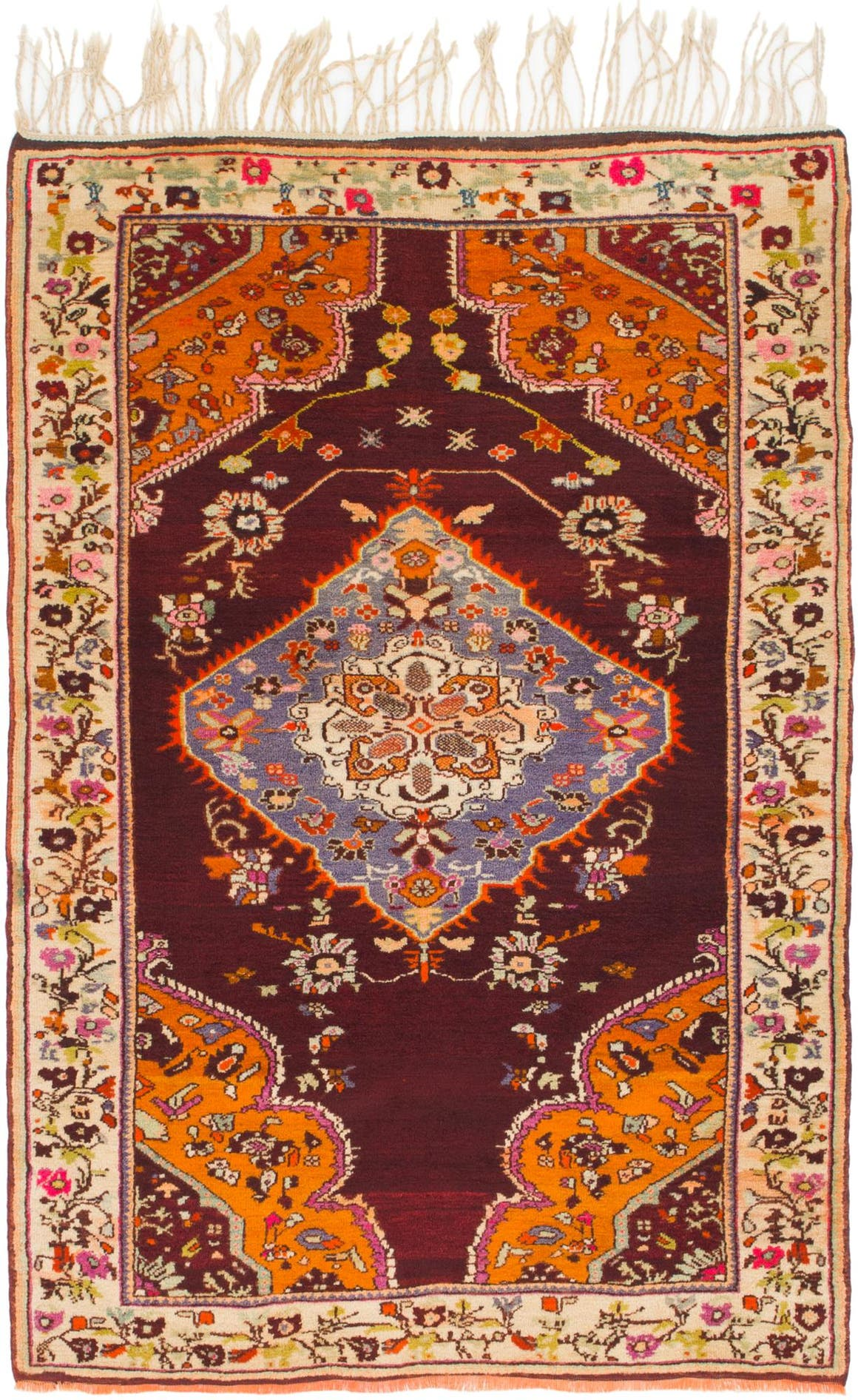 4' 4 x 6' 8 Anatolian Oriental Rug main image