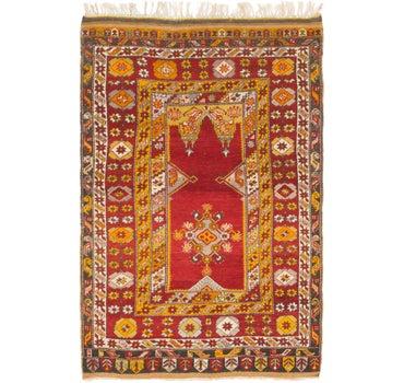 4' x 6' 2 Anatolian Oriental Rug main image