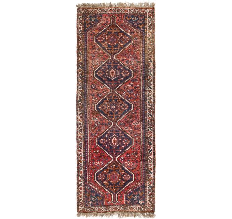 122cm x 343cm Ghashghaei Persian Runn...