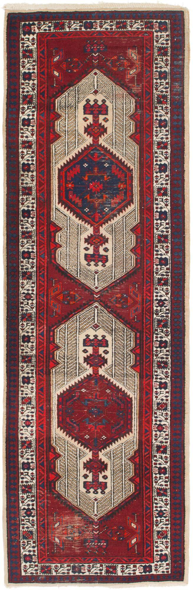 3' 4 x 10' 9 Meshkin Persian Runner Rug main image