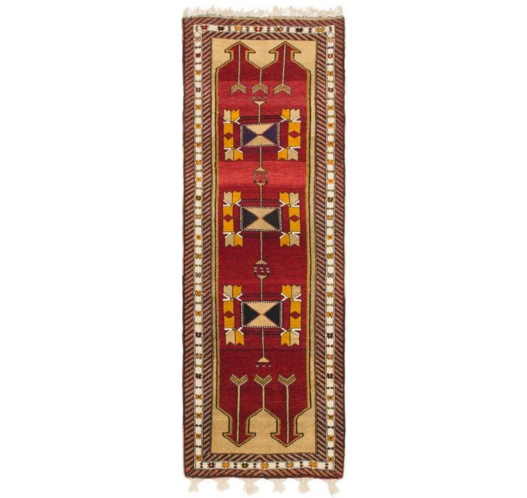 3' 9 x 11' Anatolian Oriental Runn...