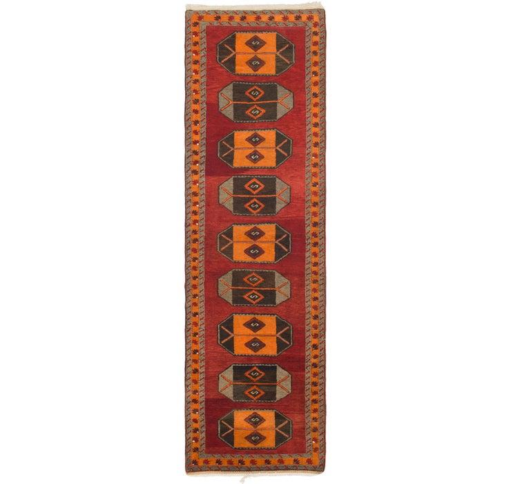 110cm x 390cm Kars Oriental Runner Rug