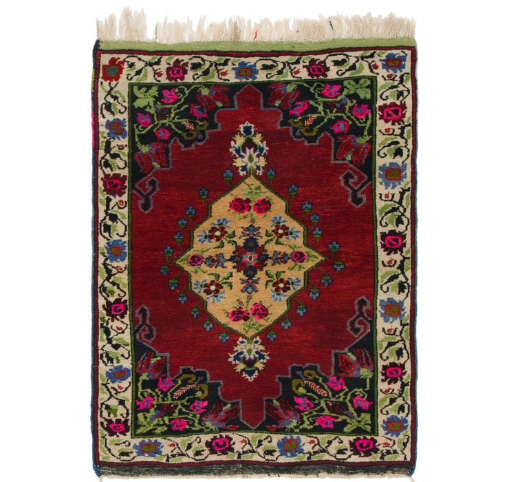 3' 8 x 5' Anatolian Oriental Rug