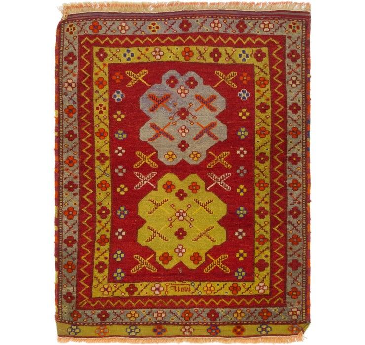 Image of 102cm x 132cm Anatolian Oriental Rug