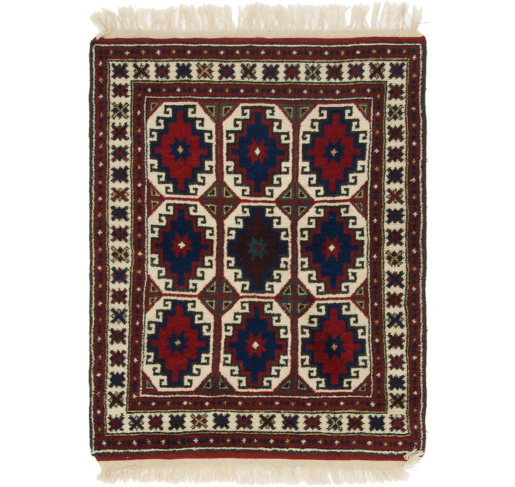 102cm x 132cm Anatolian Oriental Rug