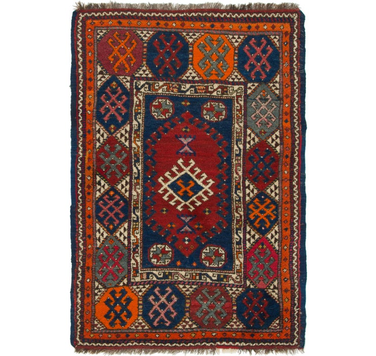 3' 9 x 5' 4 Anatolian Rug