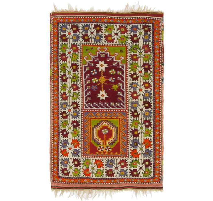 3' 2 x 5' 2 Anatolian Oriental Rug