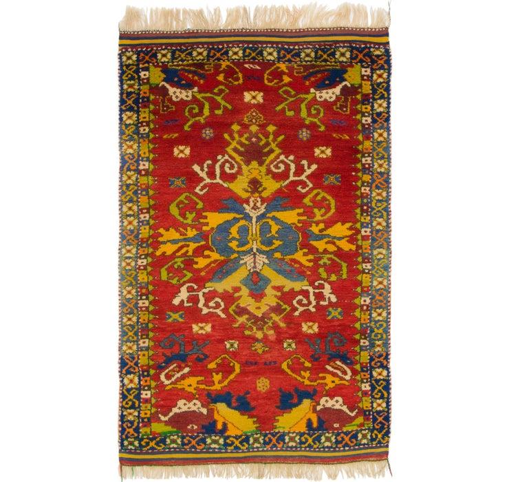 3' 4 x 5' 4 Anatolian Oriental Rug