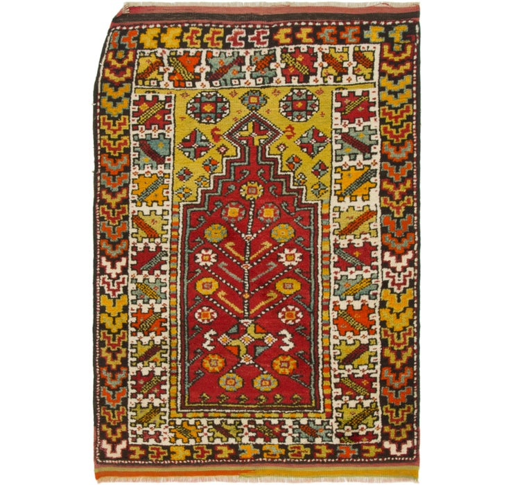 3' 5 x 5' Anatolian Rug