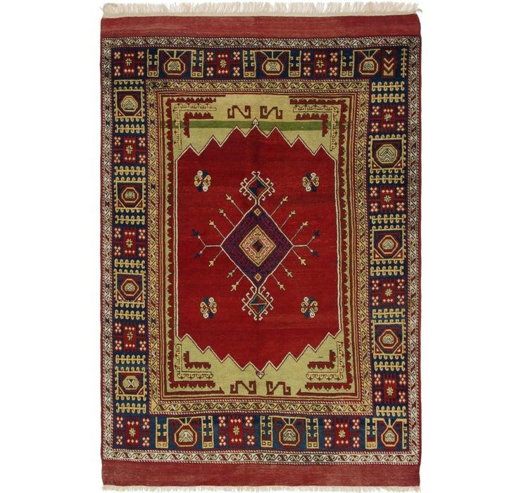 6' 4 x 9' 7 Kars Oriental Rug