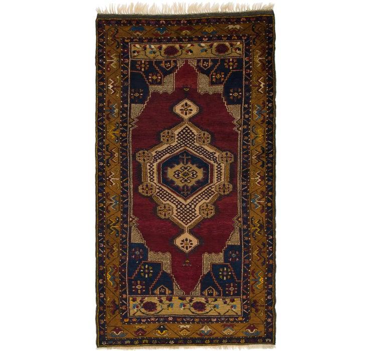 4' 3 x 8' Anatolian Oriental Runn...