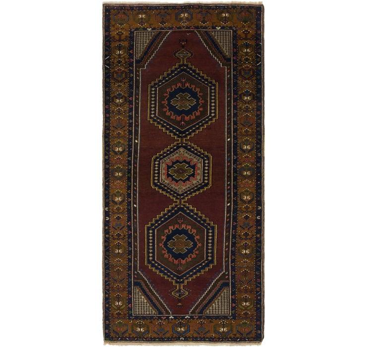 4' 2 x 9' 2 Anatolian Runner Rug