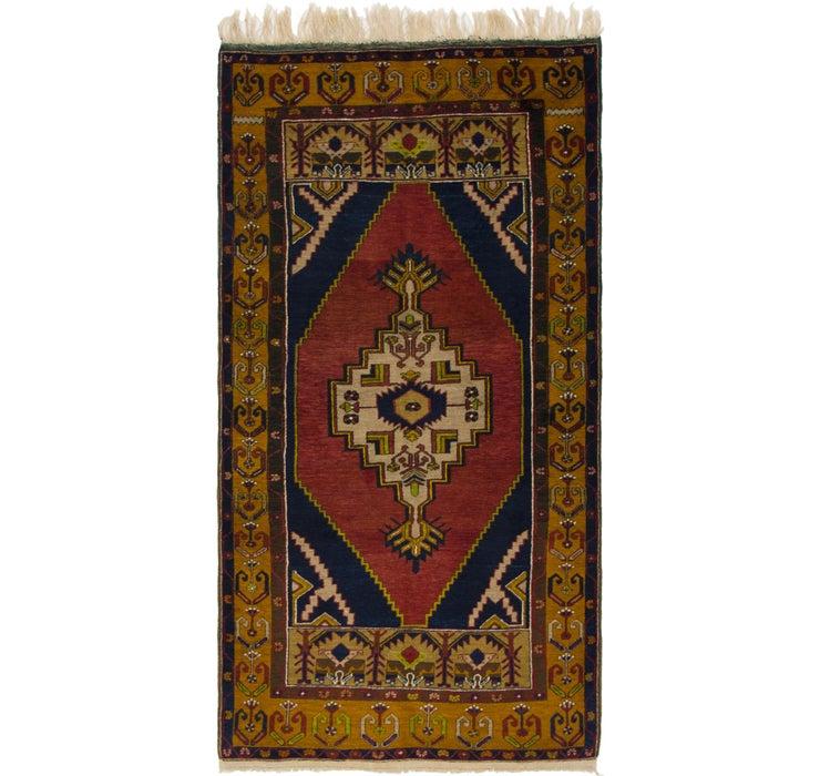 4' x 7' 9 Anatolian Oriental Rug