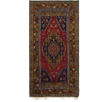 Image of 3' 6 x 7' Anatolian Oriental Rug