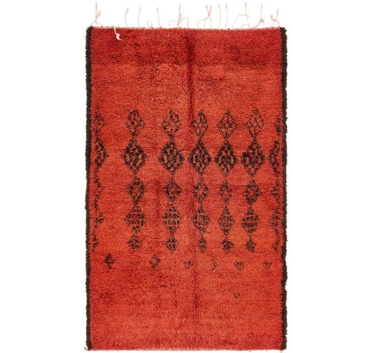 132cm x 220cm Moroccan Rug