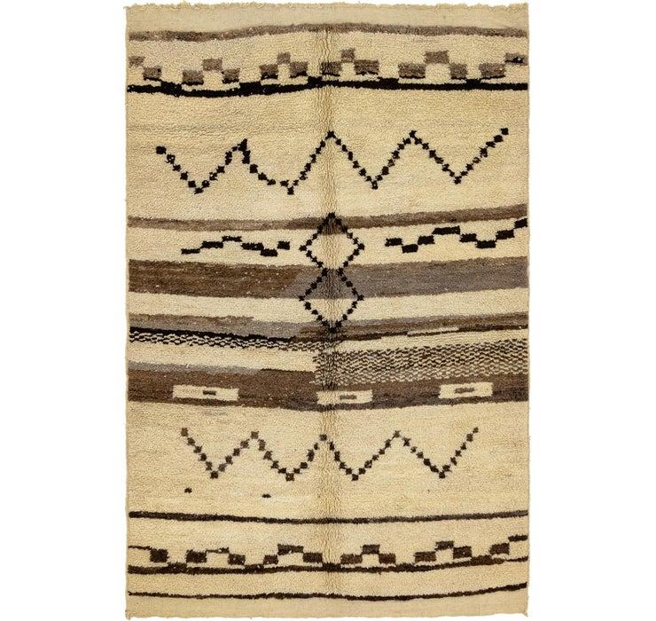 5' 2 x 7' 10 Moroccan Rug