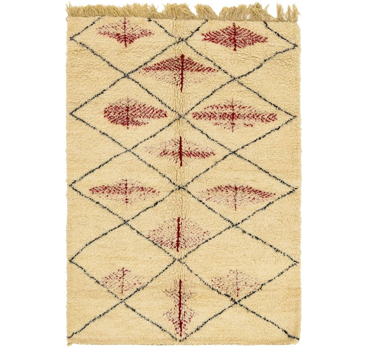 Image of 160cm x 230cm Moroccan Rug