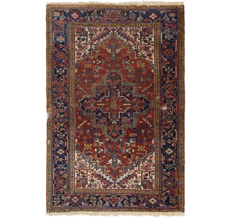 188cm x 285cm Heriz Persian Rug