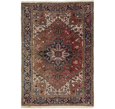 6' 4 x 8' 10 Heriz Persian Rug main image