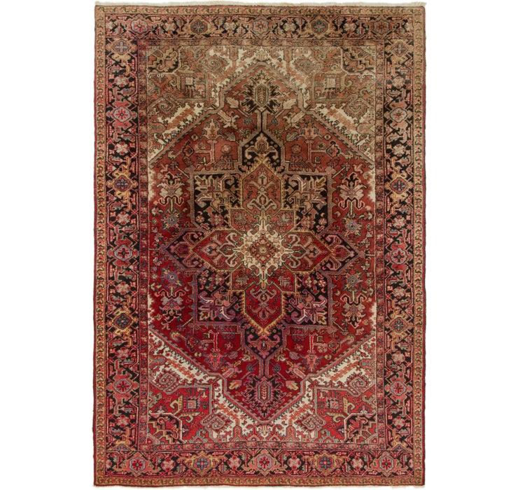 205cm x 275cm Heriz Persian Rug