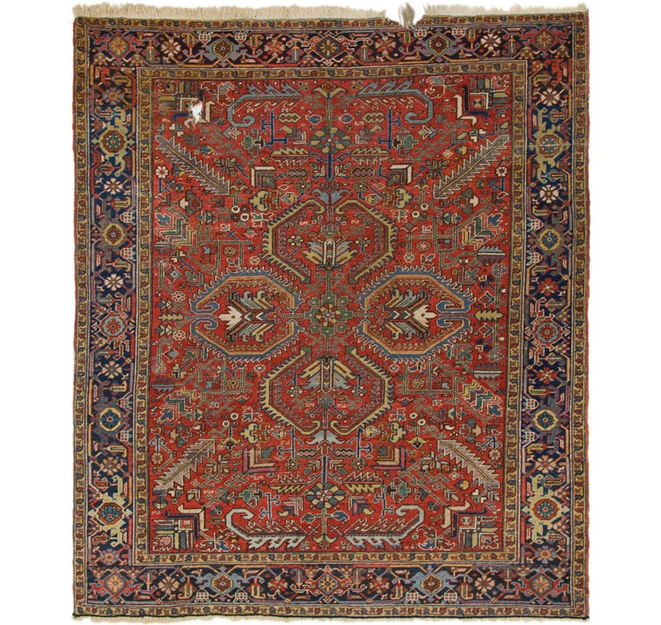 250cm x 292cm Heriz Persian Rug