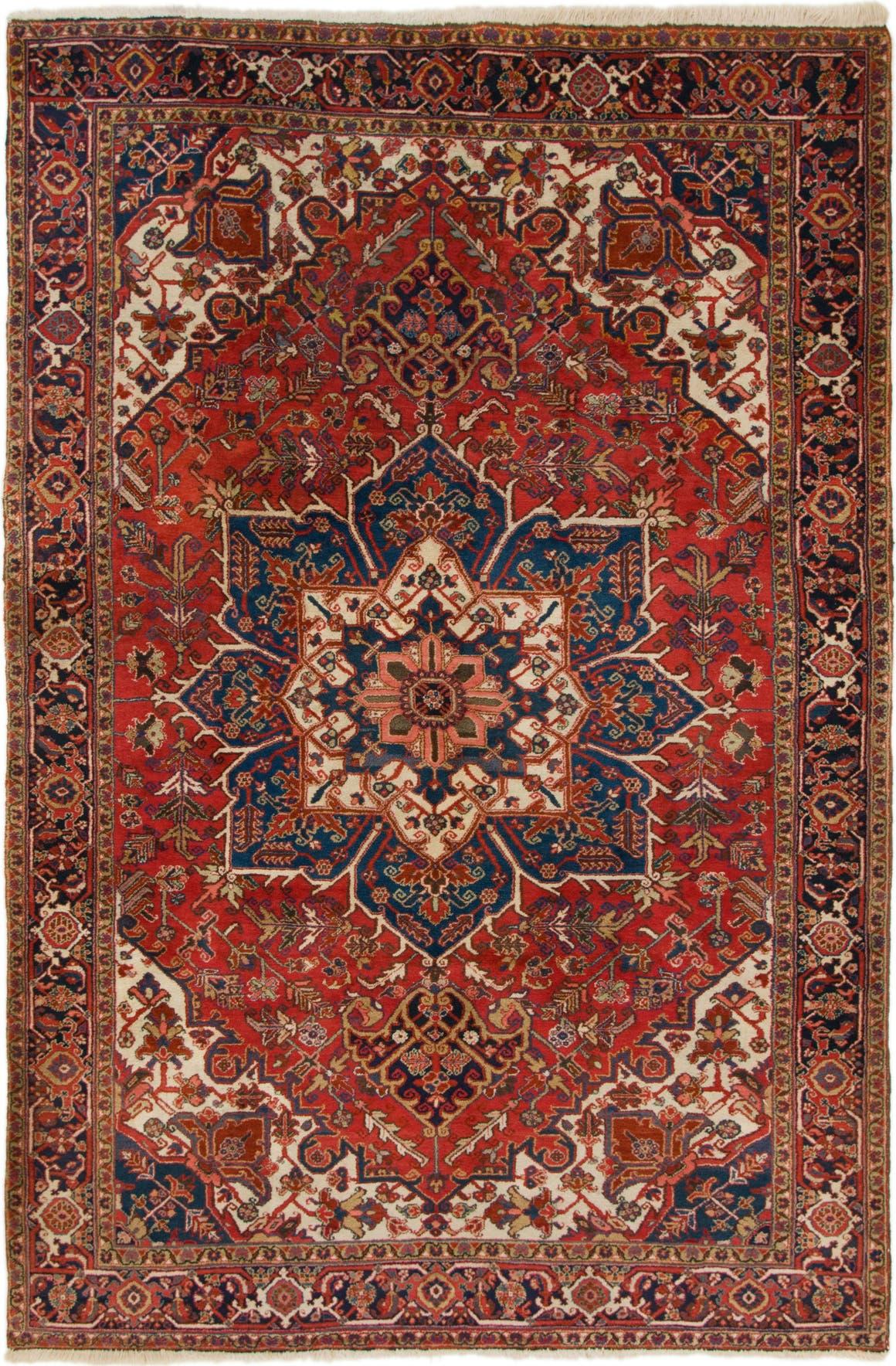 7' 10 x 11' 7 Heriz Persian Rug main image