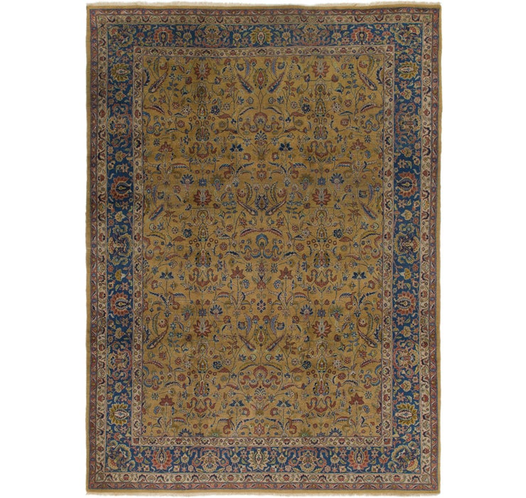 8' 8 x 11' 10 Sarough Persian Rug
