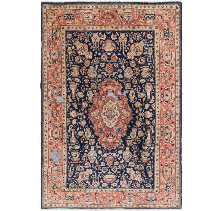 Image of 195cm x 285cm Yazd Persian Rug