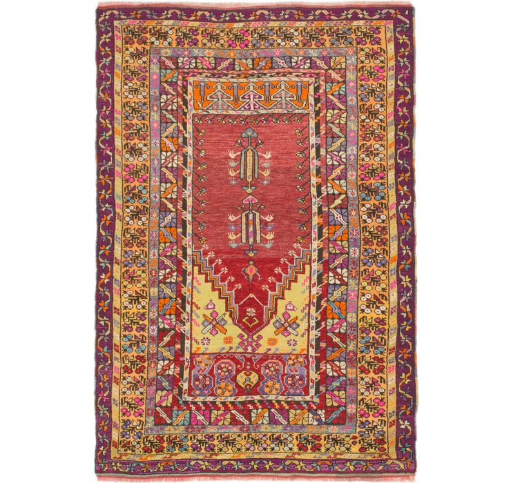 4' 10 x 7' Anatolian Rug