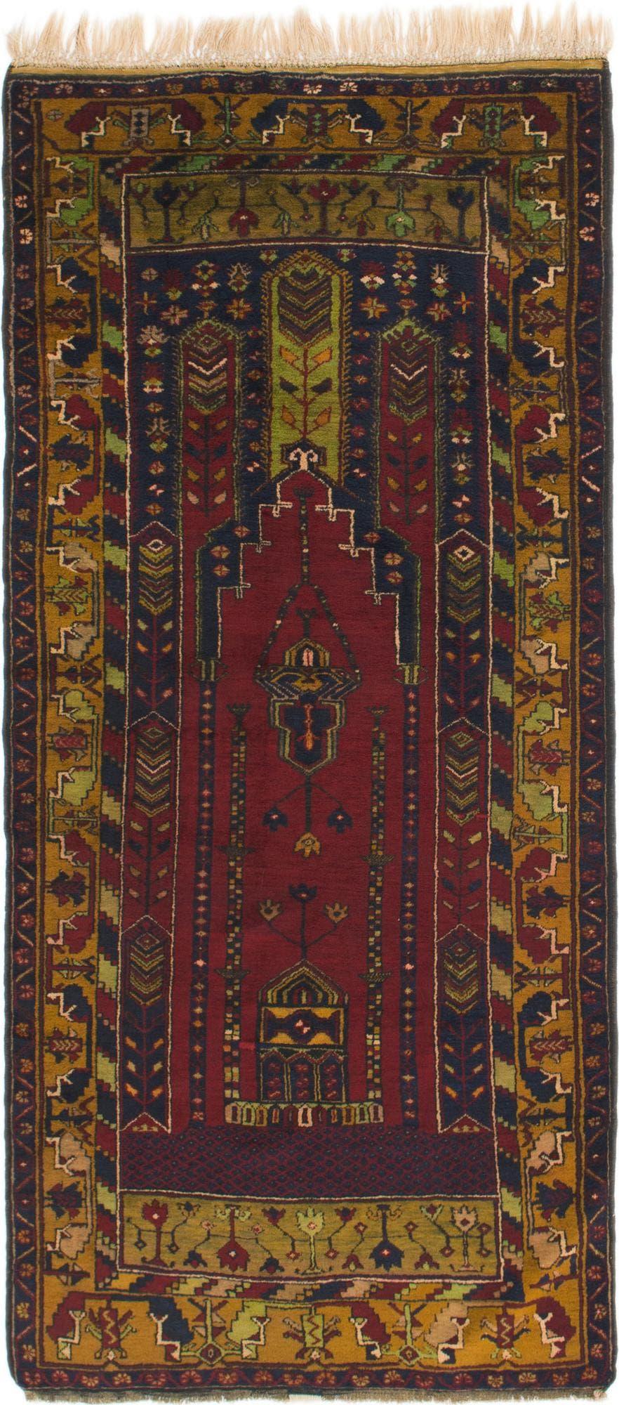4' x 8' 10 Anatolian Runner Rug main image