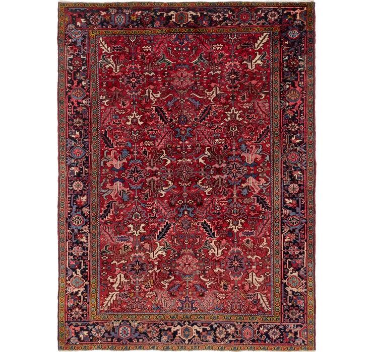 262cm x 353cm Heriz Persian Rug