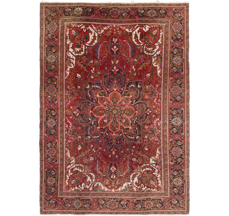 235cm x 345cm Heriz Persian Rug