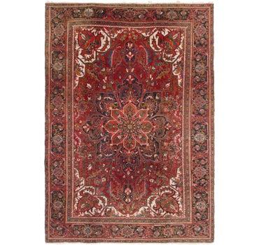 7' 9 x 11' 4 Heriz Persian Rug main image