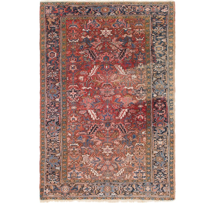 205cm x 297cm Heriz Persian Rug