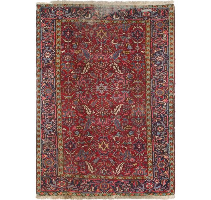 213cm x 305cm Heriz Persian Rug