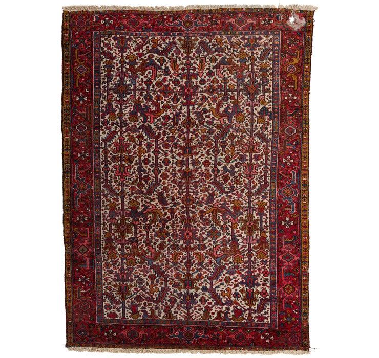245cm x 335cm Heriz Persian Rug