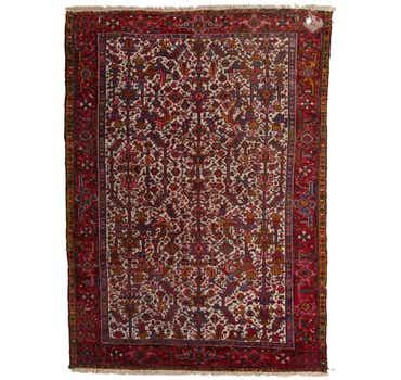 Image of 8' x 11' Heriz Persian Rug