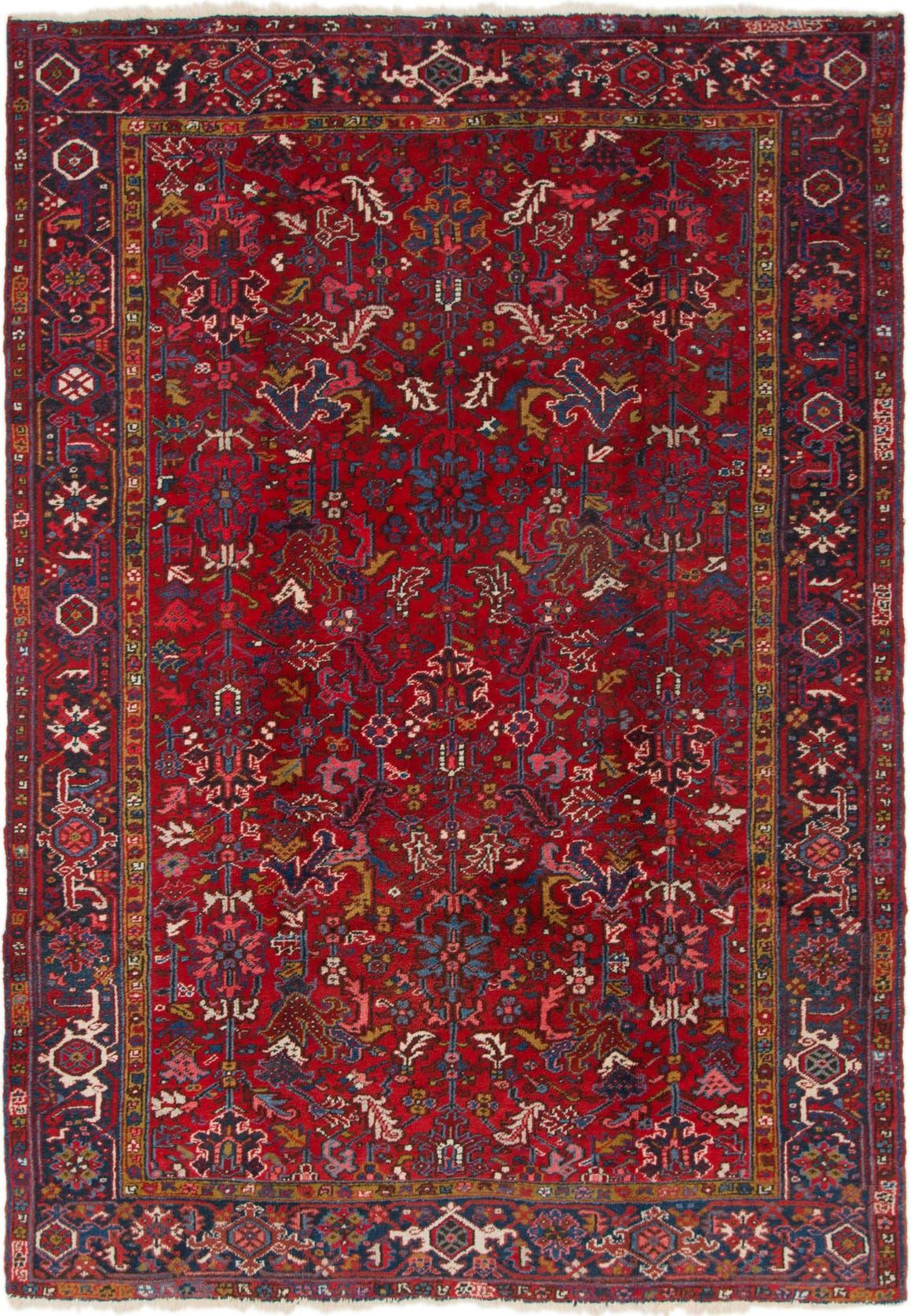 7' 3 x 10' 3 Heriz Persian Rug main image
