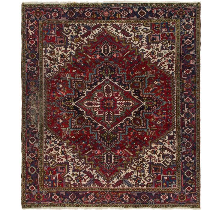 260cm x 295cm Heriz Persian Rug