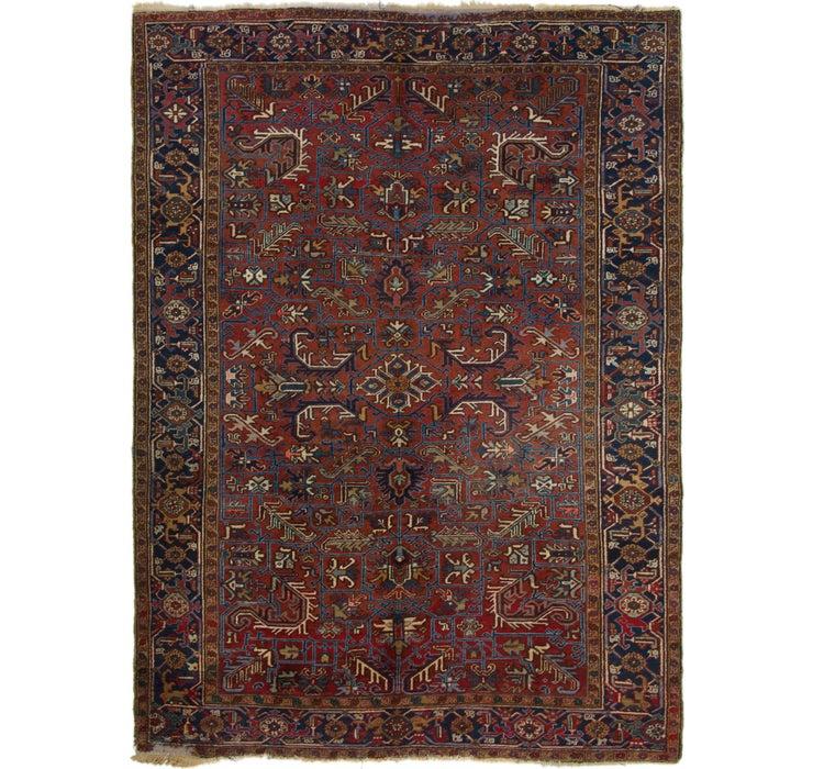 8' 3 x 11' 3 Heriz Persian Rug