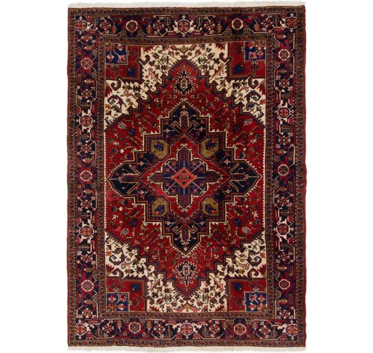 198cm x 287cm Heriz Persian Rug