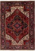 6' 6 x 9' 5 Heriz Persian Rug thumbnail