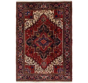 6' 6 x 9' 5 Heriz Persian Rug main image