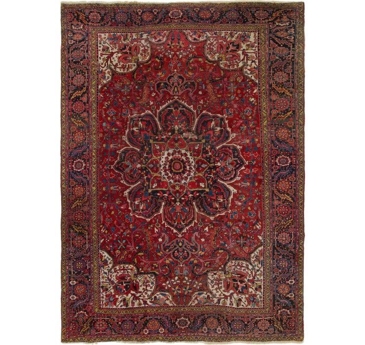 Image of 305cm x 427cm Heriz Persian Rug